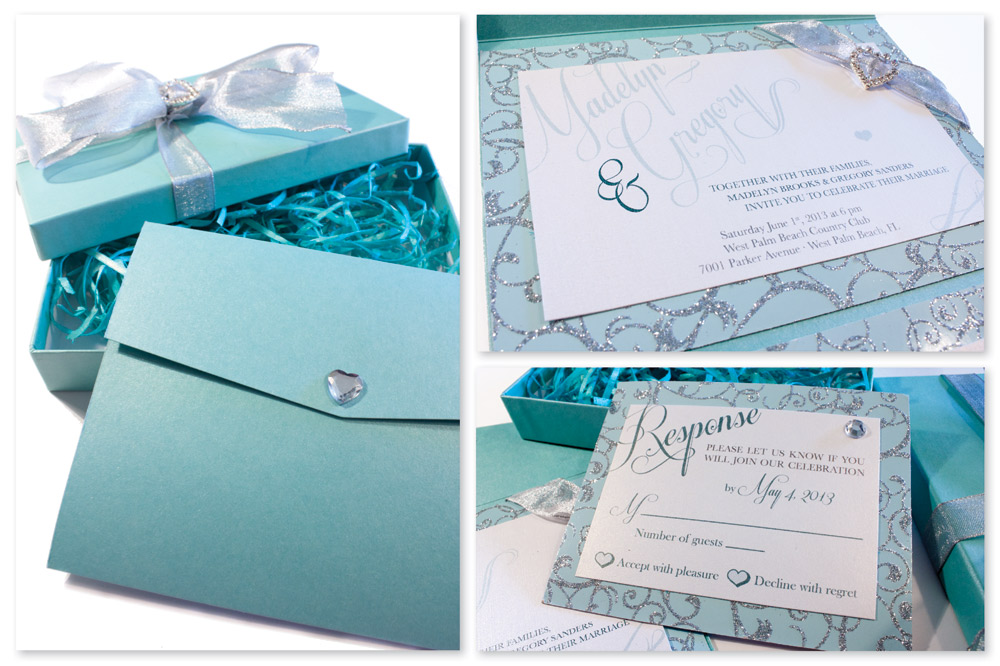 Custom Musical Wedding InvitationsMusic Box Invites