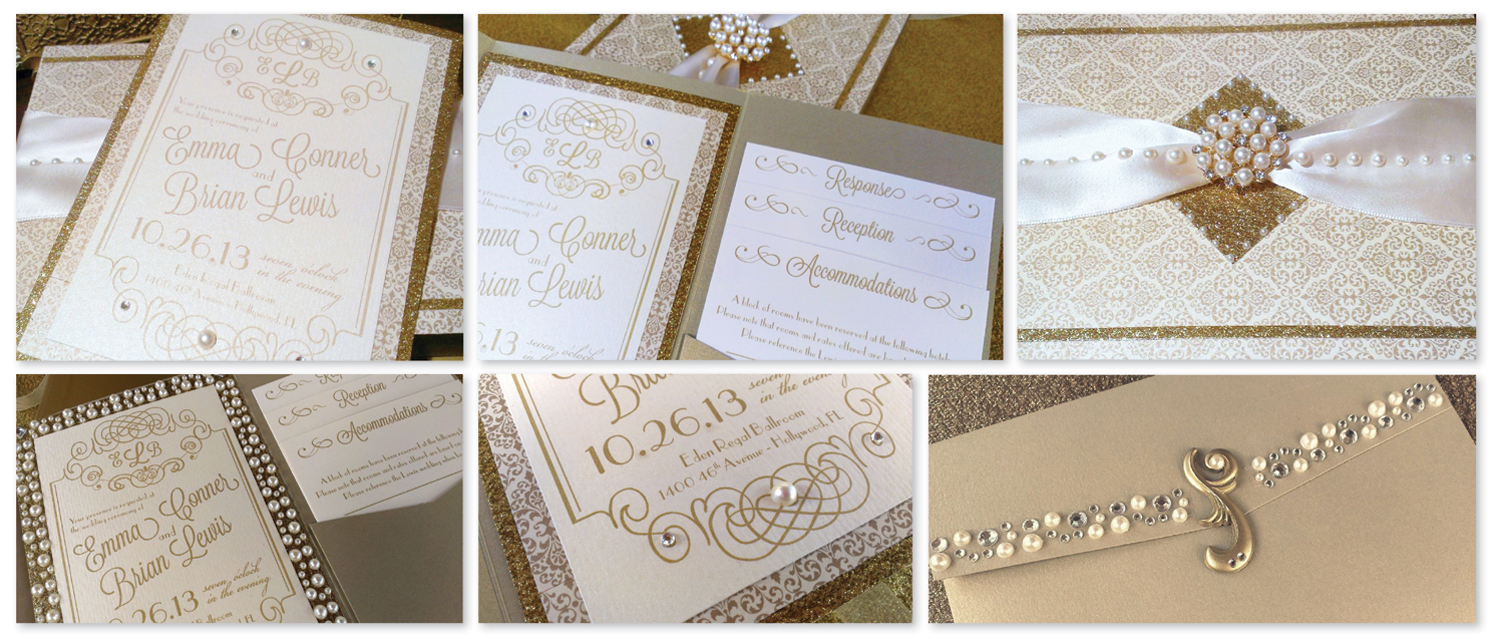 1920s Inspired Musical Invitations